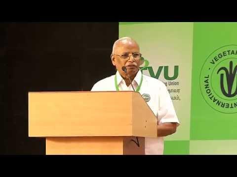 IVU 42nd world veg fest at chennai-Sirpi Bala Subramanyam speech