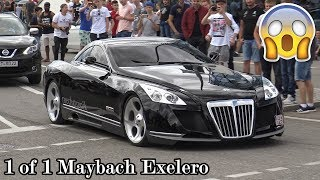 The 8 Million Dollar Maybach Exelero in Motorworld Böblingen! Great Sounds!