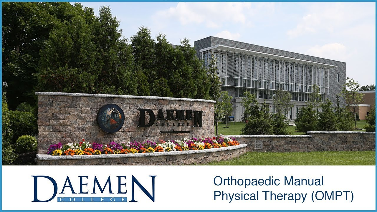 Orthopaedic Manual Physical Therapy (OMPT) Fellowship/M S    Daemen