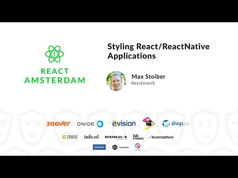 Styling React/ReactNative Applications - Max Stoiber