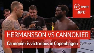 Jack Hermansson vs Jared Cannonier (fight highlights) | UFC Copenhagen