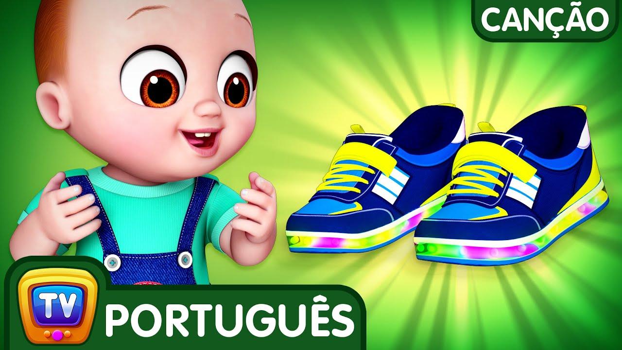 Canção sapatos do bebê (Baby Shoes Song) | Canções para Crianças | ChuChu TV