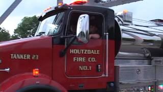 2014 Clearfield County Pennsylvania Fair Firemens Parade
