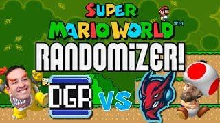 Super Mario World - Randomizer All Castles Race with DGR [#01] [LIVE STREAM ARCHIVE]