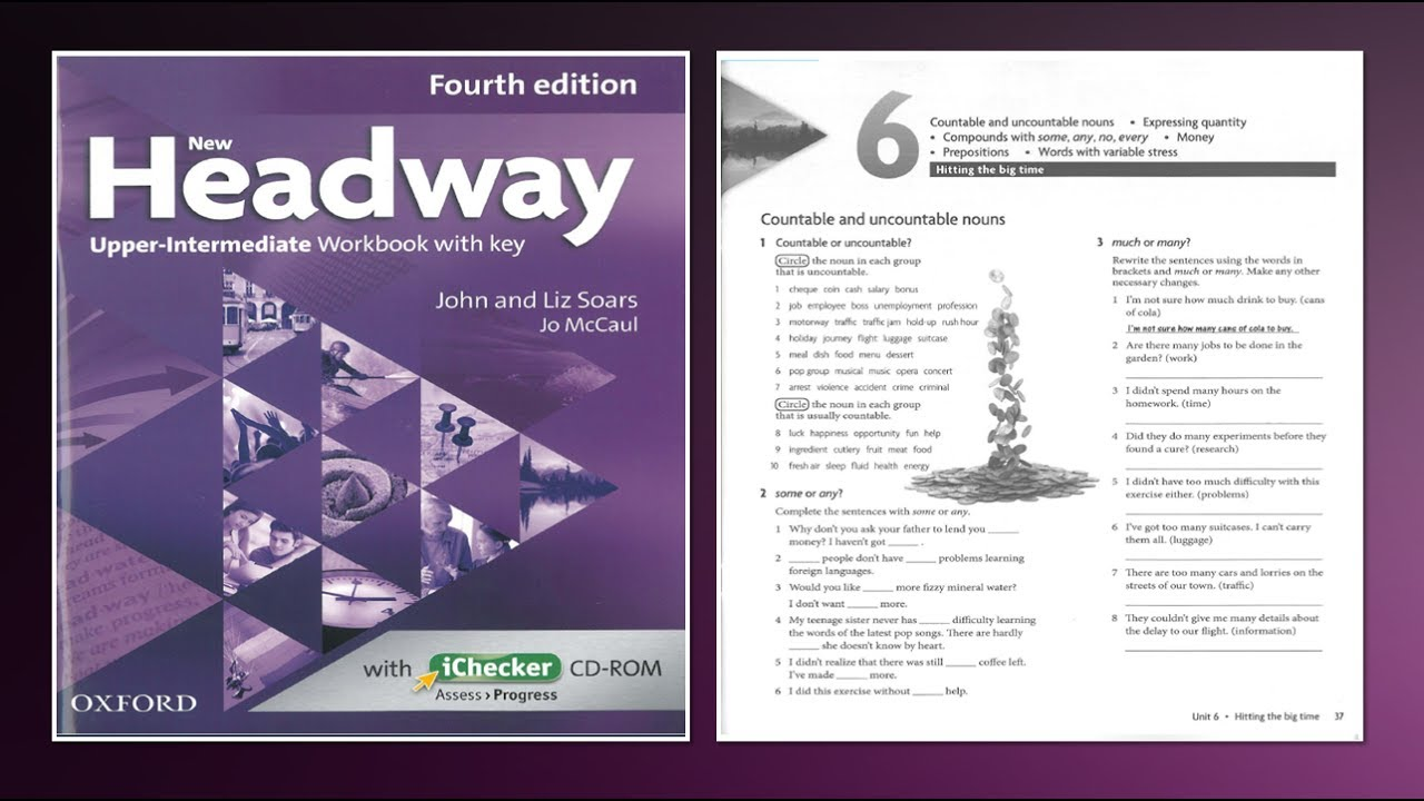 Workbooks speakout intermediate podcast worksheets : New Headway Upper-Intermediate Exercise Book 4th -Unit :06 - YouTube
