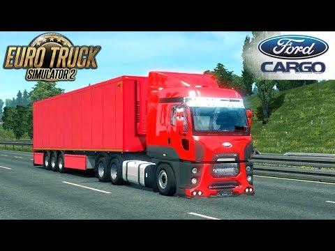 Euro Truck Simulator 2 FORD CARGO 2842 TRUCK