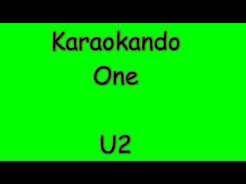 Karaoke Internazionale - One - U2 ( Lyrics )