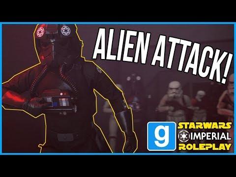 ALIEN ATTACK - STARWARS RP