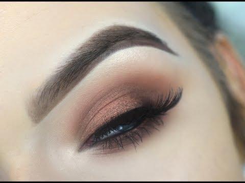 URBAN DECAY NAKED HEAT   EASY Smokey Eye Makeup Tutorial