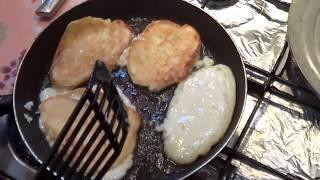 Кружевные Оладьи С Яблоками - Недорогой Вкусный Завтрак