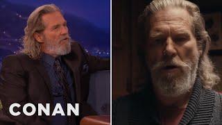 Jeff Bridges On His Super Bowl Ad  - CONAN on TBS