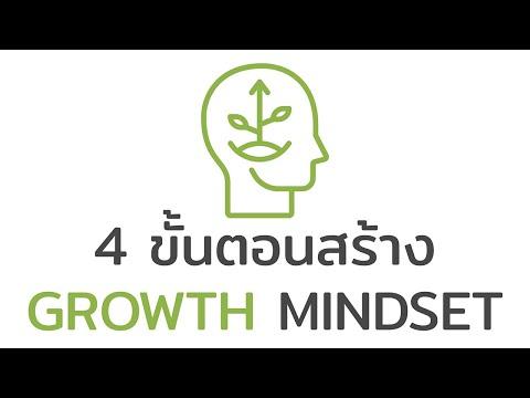 4 ขั้นตอนสร้าง Growth Mindset