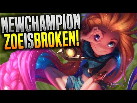 Zoe is so Broken! - Korean High Elo Show you How to Play New