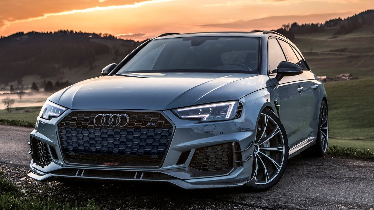 the supercar killer 2018 audi rs4 r avant 530hp 690nm by abt sportsline nardo gray youtube. Black Bedroom Furniture Sets. Home Design Ideas