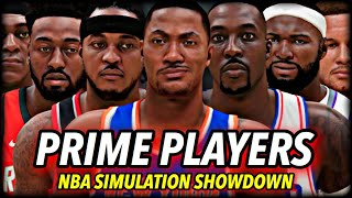 I Put Every NBA Player In Their PRIME... here's what happened.