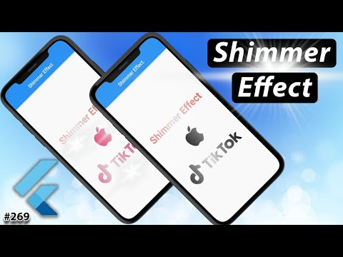 Flutter Tutorial - Shimmer Effect Animations For Images & Texts In 90 Seconds