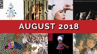 August 2018 / Album Review Roundup