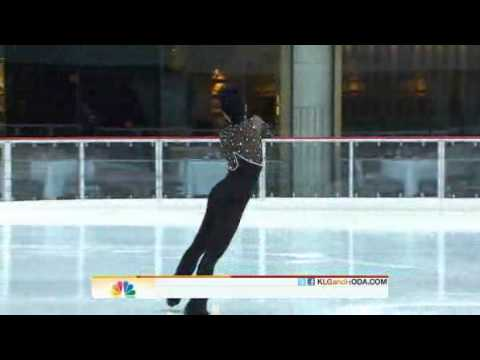 Today Show 10.01.2011 - Johnny Weir  - Dirty Love