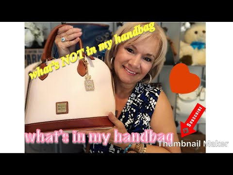 WHATS NOT IN MY HANDBAG TAG !!
