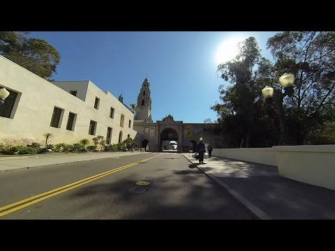 Balboa Park Bike Ride - March 26, 2015