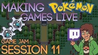 Making Pokemon Games Live (Game Jam Session 11)