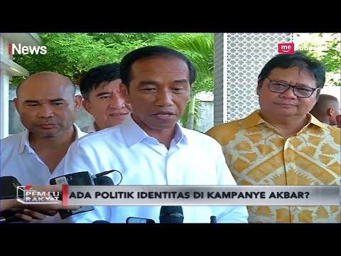 Begini Komentar Jokowi soal Surat SBY Kritik Kampanye Akbar Prabowo-Sandi - Pemilu Rakyat 09/04