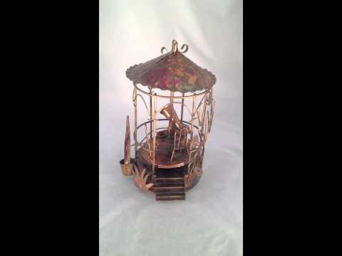 Vintage Mid Century Copper Art Sculpture