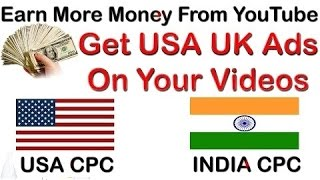 Simply Way To Increase USA UK Traffic on YouTube Videos and Earn More Money in Hindi
