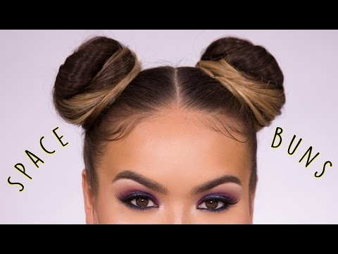 Space Buns EASY How-To Hairstyle Tutorial   Maryam Maquillage