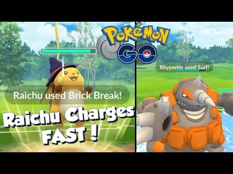 RAICHU CHARGES FAST! Pokemon GO Tempest Cup PvP Great League Battles thumbnail