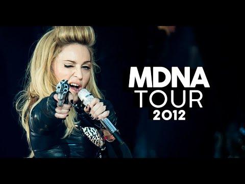 Tiro sensualidade e fé  MDNA TOUR Review turnês Madonna