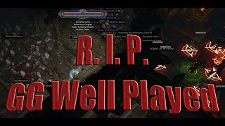 Path of Exile Act 4: LOL finally happened