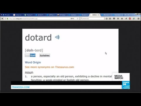 """Searches for definition of """"dotard"""" soar after Kim Jong-un insults Trump"""