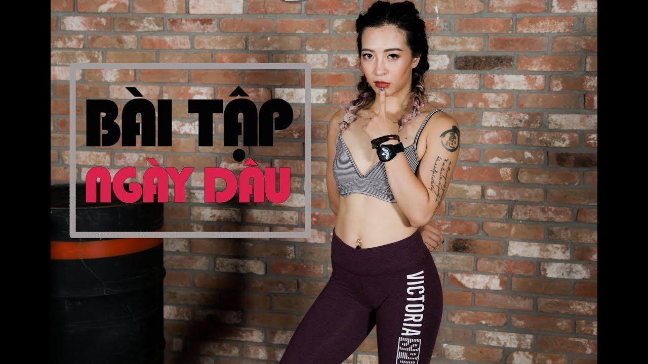 Bài tập giúp giảm đau bụng ngày dâu (All level) | Workout #84 ♡ Hana Giang Anh