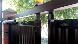 Somfy SGS 501. Автоматизация распашных ворот(, 2015-08-24T07:38:38.000Z)