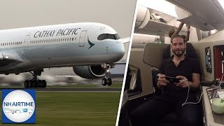 NH AIRTIME S04E05 (NL) | CATHAY PACIFIC'S AIRBUS A350-1000