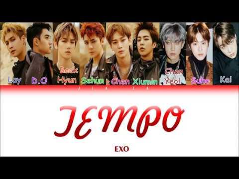 "EXO ""TEMPO"" (Sub Indo) Lirik {Color Coded-Rom-Ind}"