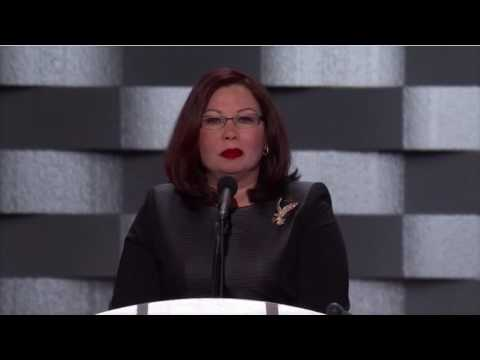 Tammy Duckworth at the Democratic National Convention