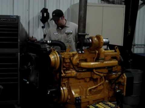 Diesel Engine Working >> John Deere Powertech 6081 8.1L Diesel Test Run on Engine Stand - YouTube
