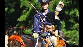Yabusame (Japanese Horseback Archery) at Meiji Shrine on Culture Day 流鏑馬