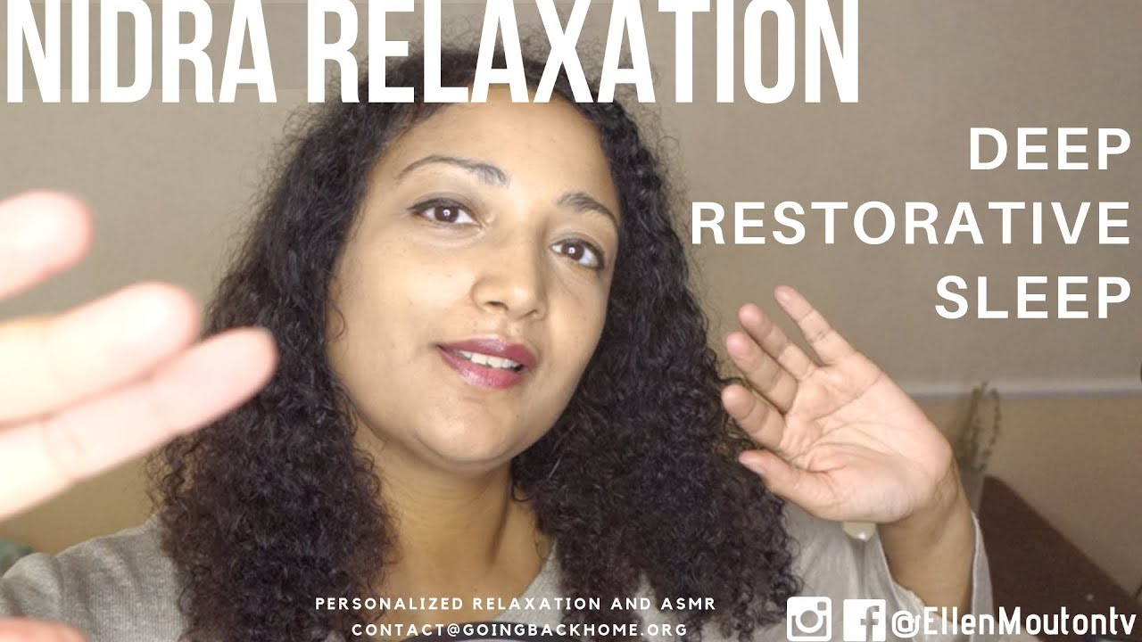 7749096bc0f4e Yoga Nidra to facilitate deep sleep ASMR relaxation – ASMR Community
