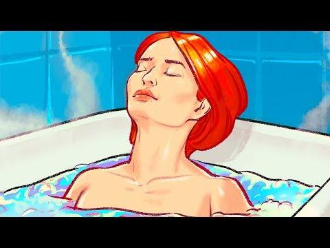 Горячая ванна сжигает столько же калорий, сколько 30-минутная прогулка