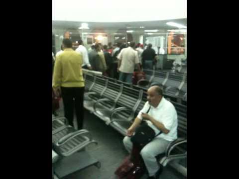 Boarding a flight in Abu Dhabi Airport