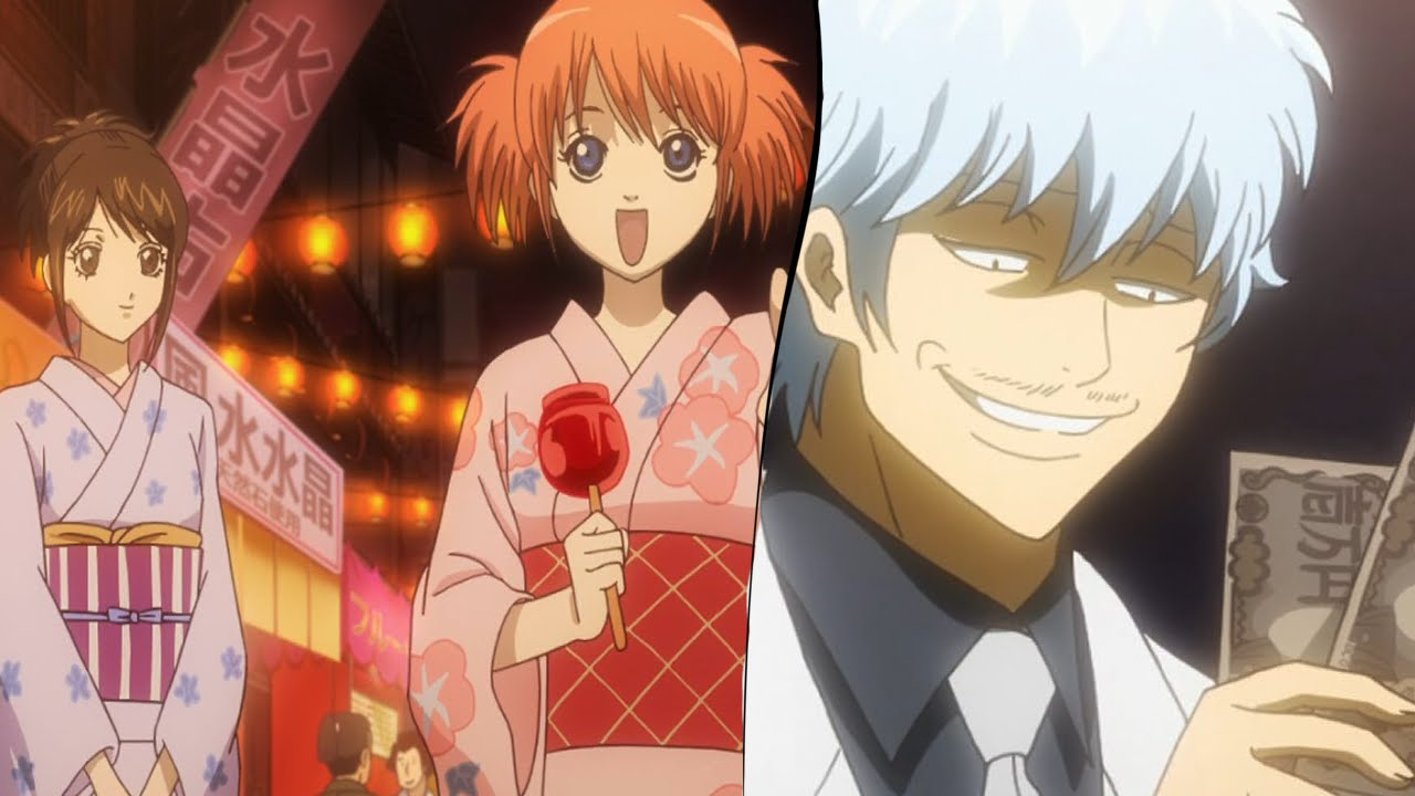 gintama gintoki and otae - photo #46