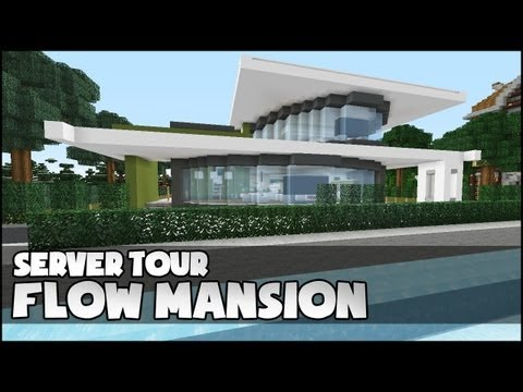 Minecraft house tutorial 24x24 modern house funnycat tv for 24x24 modern house