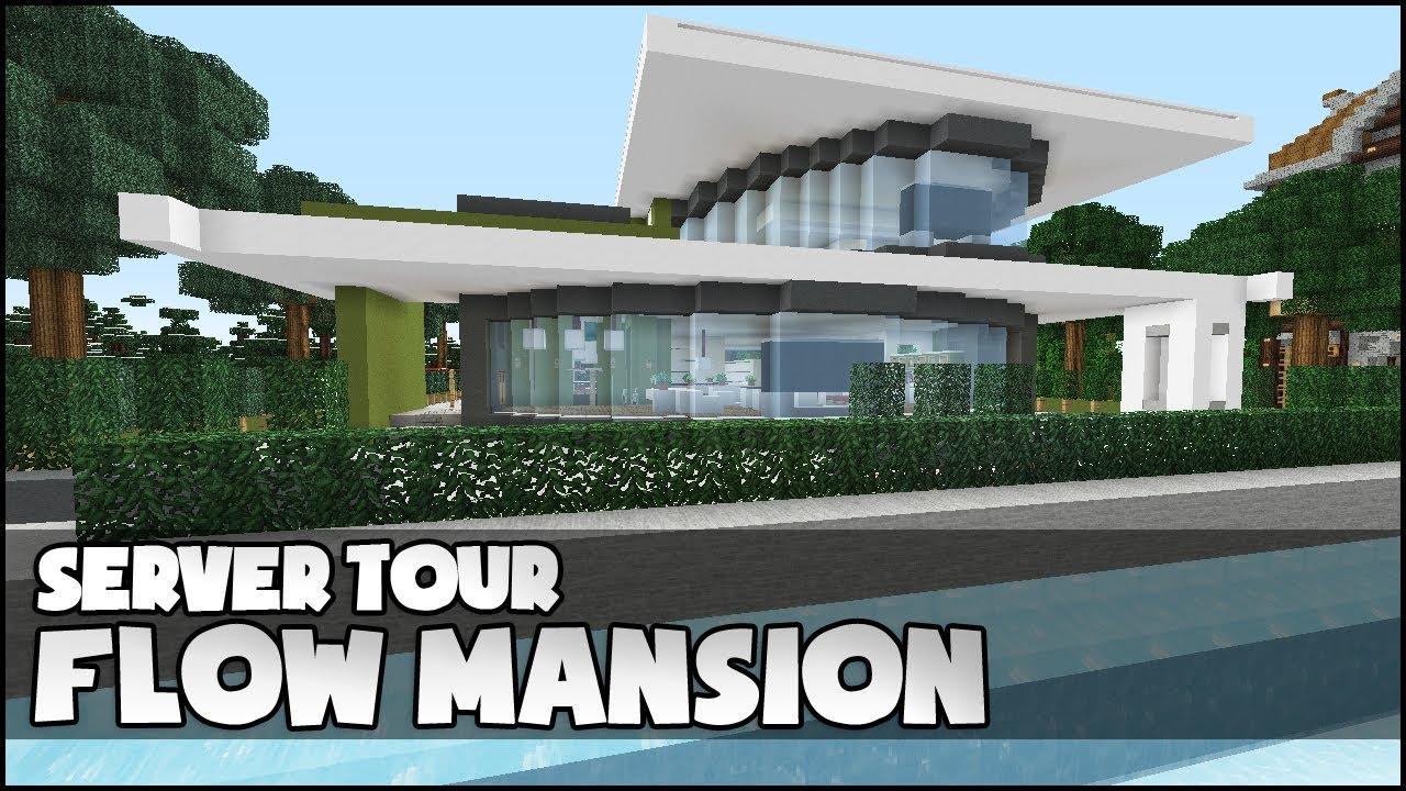 minecraft mansion tutorial youtube