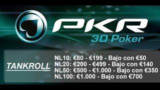 Poker 3D - Tankroll Challenge - Sesión 2