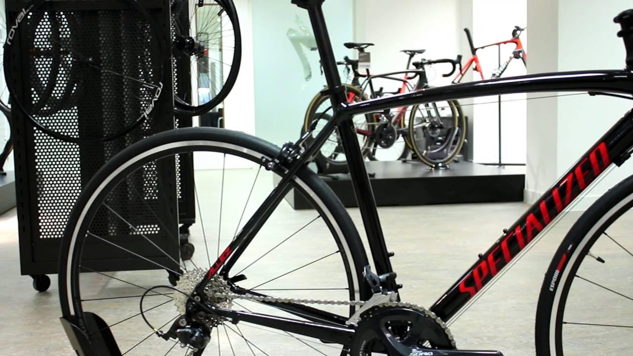 2ce0a34dde6 Specialized Allez E5 Sport Road Bike 2017 - YouTube