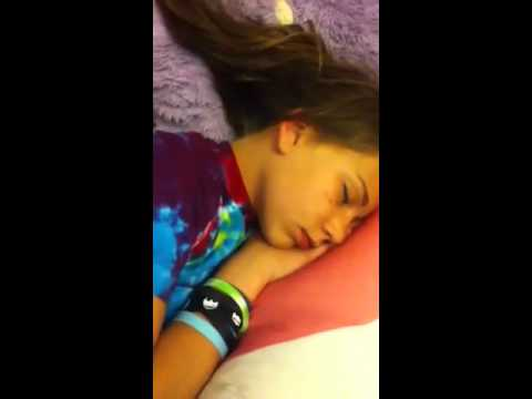 Prank on Sleeping White Girl!!