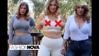 Fashion Nova Try On Haul & Review